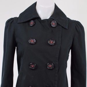 Marc Jacobs Navy Double Breasted Jacket Size Small